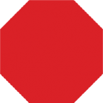 Trubicars Stop sign