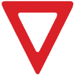 Trubicars Yield Sign