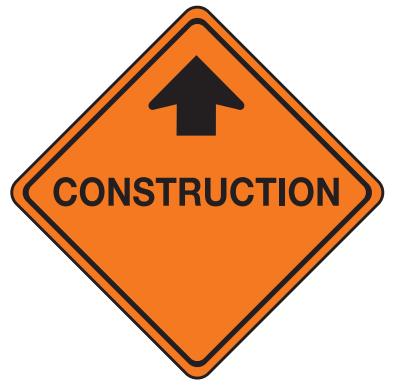 Trubicars Construction Ahead