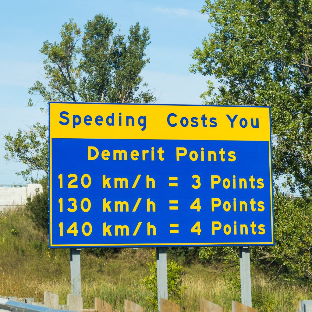 Trubicars Demerit point system 1