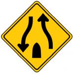 Trubicars Divided highway ends