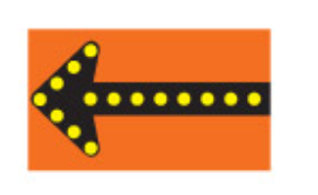 Trubicars Flashing Lights On The Arrows Show The Direction To Follow