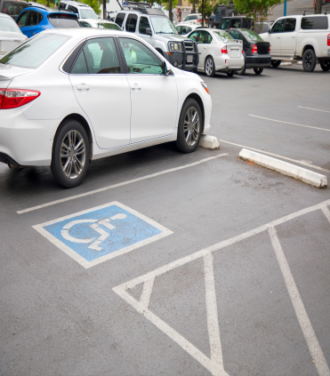 Trubicars Handicapped Parking Markings 1