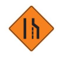 Trubicars Lane ahead is closed for roadwork.
