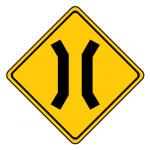 Trubicars Narrow bridge ahead