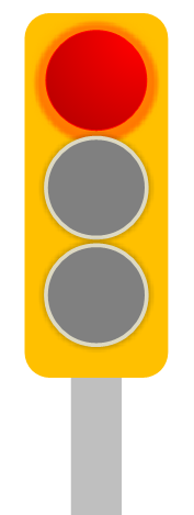 Trubicars Red traffic light1