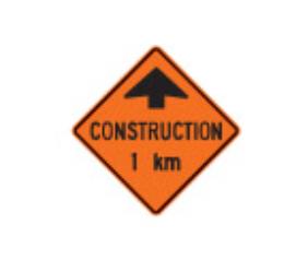 Trubicars Road Work Ahead