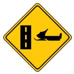 Trubicars Snowmobile crossing ahead