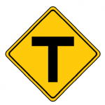 Warns of T Intersection