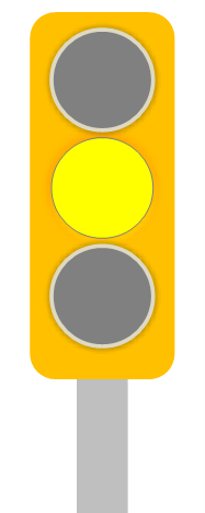 Trubicars Yellow Traffic Light 1