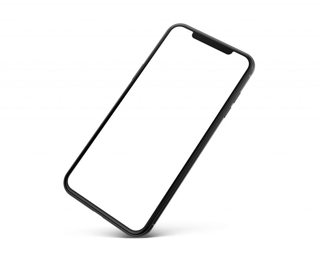 right tilt phone