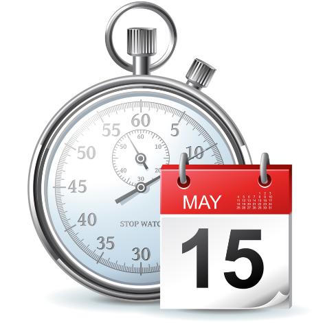 stop watch or calendar